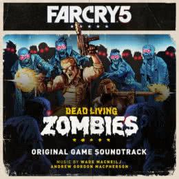 Обложка к диску с музыкой из игры «Far Cry 5: Dead Living Zombies»