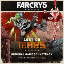 Обложка к диску с музыкой из игры «Far Cry 5: Lost on Mars»