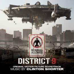 Обложка к диску с музыкой из фильма «Район №9»
