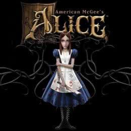 Обложка к диску с музыкой из игры «American McGee's Alice»