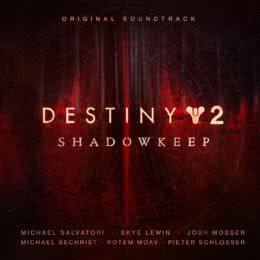 Обложка к диску с музыкой из игры «Destiny 2: Shadowkeep»