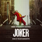 Маленькая обложка к диску с музыкой из фильма «Джокер»