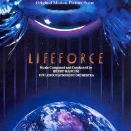 Обложка к диску с музыкой из фильма «Жизненная сила»