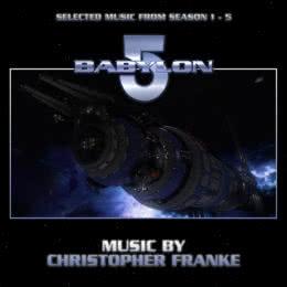 Обложка к диску с музыкой из сериала «Вавилон 5 (1-5 сезон)»