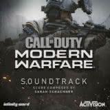 Маленькая обложка диска c музыкой из игры «Call of Duty: Modern Warfare»