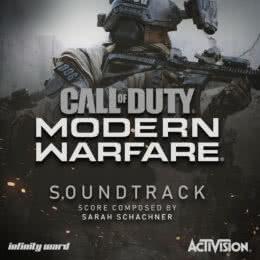 Обложка к диску с музыкой из игры «Call of Duty: Modern Warfare»