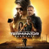 Маленькая обложка диска c музыкой из фильма «Терминатор: Тёмные судьбы»