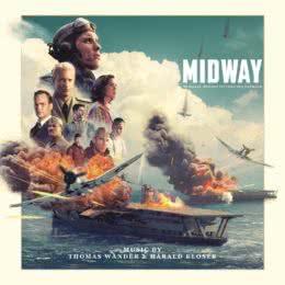 Обложка к диску с музыкой из фильма «Мидуэй»