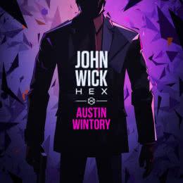 Обложка к диску с музыкой из игры «John Wick Hex»
