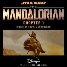 Обложка к диску с музыкой из сериала «Мандалорец (Chapter 1)»
