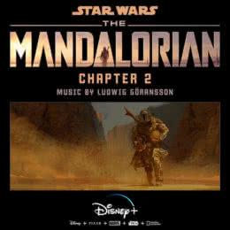 Обложка к диску с музыкой из сериала «Мандалорец (Chapter 2)»
