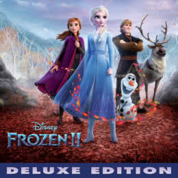 Обложка к диску с музыкой из мультфильма «Холодное сердце 2»