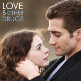 Обложка к диску с музыкой из фильма «Любовь и другие лекарства»