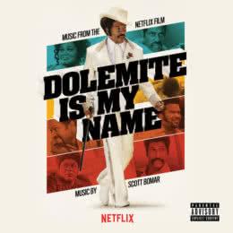 Обложка к диску с музыкой из фильма «Меня зовут Долемайт»