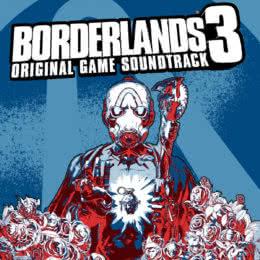 Обложка к диску с музыкой из игры «Borderlands 3»
