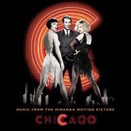 Обложка к диску с музыкой из фильма «Чикаго»