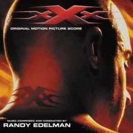 Обложка к диску с музыкой из фильма «Три икса»