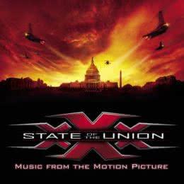 Обложка к диску с музыкой из фильма «Три икса 2: Новый уровень»