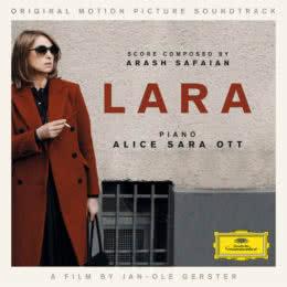 Обложка к диску с музыкой из фильма «Лара»