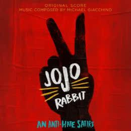 Обложка к диску с музыкой из фильма «Кролик Джоджо»