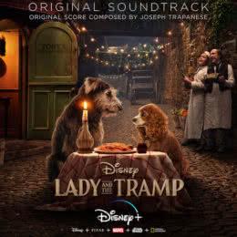 Обложка к диску с музыкой из фильма «Леди и Бродяга»