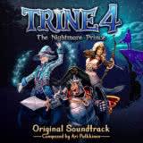 Маленькая обложка диска c музыкой из игры «Trine 4: The Nightmare Prince»