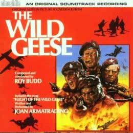 Обложка к диску с музыкой из фильма «Дикие гуси»