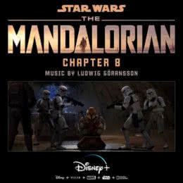 Обложка к диску с музыкой из сериала «Мандалорец (Chapter 8)»