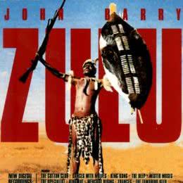 Обложка к диску с музыкой из фильма «Зулусы»