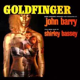 Обложка к диску с музыкой из фильма «Голдфингер»