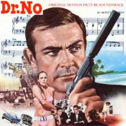 Обложка к диску с музыкой из фильма «Доктор Ноу»