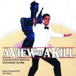 Обложка к диску с музыкой из фильма «Вид на убийство»