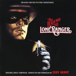 Обложка к диску с музыкой из фильма «Легенда об одиноком рейнджере»
