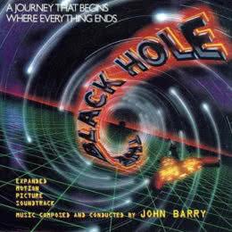 Обложка к диску с музыкой из фильма «Чёрная дыра»