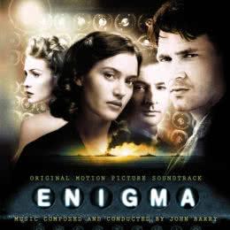 Обложка к диску с музыкой из фильма «Энигма»