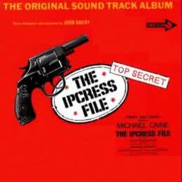 Обложка к диску с музыкой из фильма «Досье «Ипкресс»»