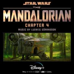 Обложка к диску с музыкой из сериала «Мандалорец (Chapter 4)»