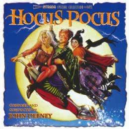 Обложка к диску с музыкой из фильма «Фокус-покус»