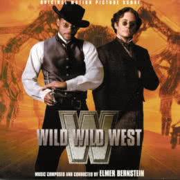 Обложка к диску с музыкой из фильма «Дикий, дикий Запад»