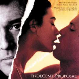 Обложка к диску с музыкой из фильма «Непристойное предложение»