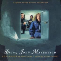 Обложка к диску с музыкой из фильма «Быть Джоном Малковичем»