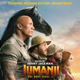 Обложка к диску с музыкой из фильма «Джуманджи: Новый уровень»