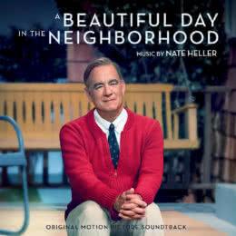 Обложка к диску с музыкой из фильма «Прекрасный день по соседству»
