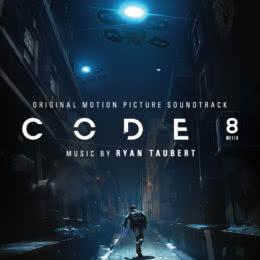 Обложка к диску с музыкой из фильма «Код 8»