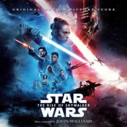 Обложка к диску с музыкой из фильма «Звёздные войны: Скайуокер. Восход»
