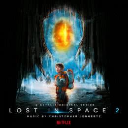 Обложка к диску с музыкой из сериала «Затерянные в космосе (2 сезон)»