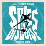 Маленькая обложка диска c музыкой из мультфильма «Камуфляж и шпионаж»