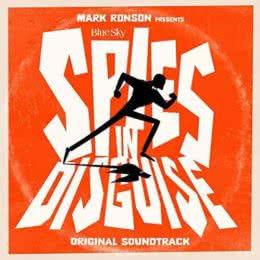 Обложка к диску с музыкой из мультфильма «Камуфляж и шпионаж»