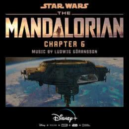 Обложка к диску с музыкой из сериала «Мандалорец (Chapter 6)»