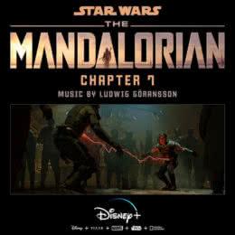 Обложка к диску с музыкой из сериала «Мандалорец (Chapter 7)»